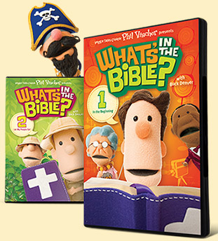 What's In the Bible DVDs